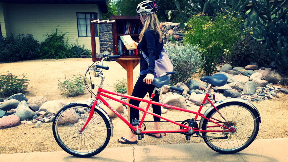Little Free Library toursare a great bike outing