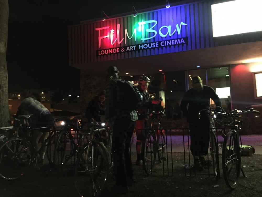 film bar in Phoenix screened Bikes vs Cars last week