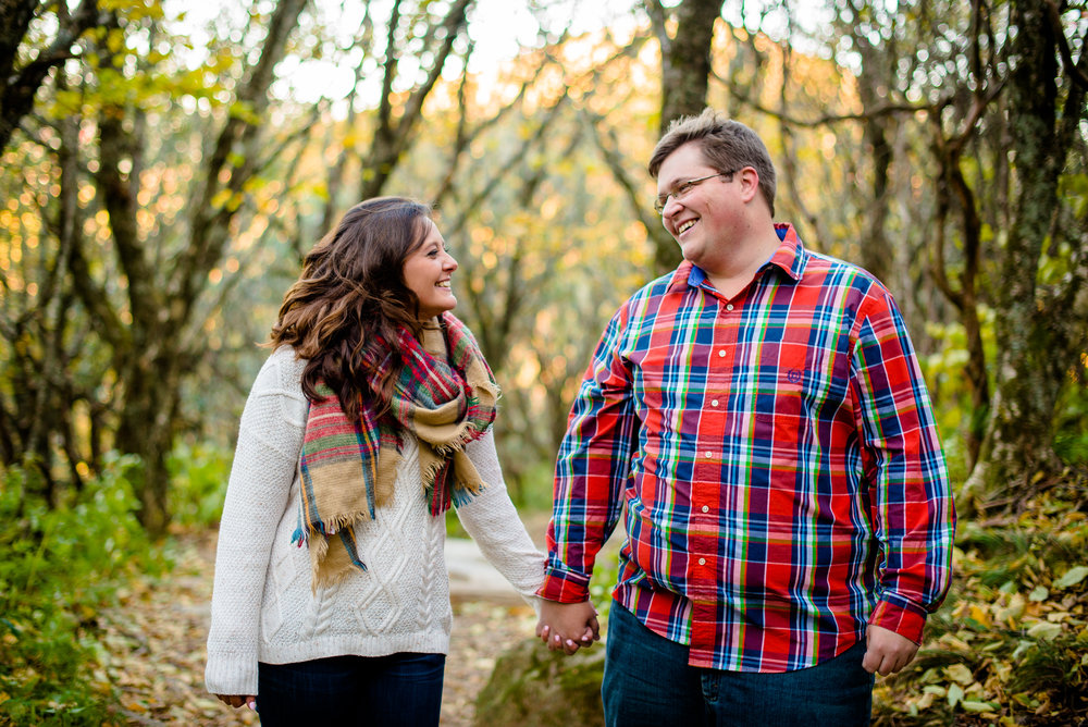 Craggy Gardens Engagement Session - Asheville, NC Photographer