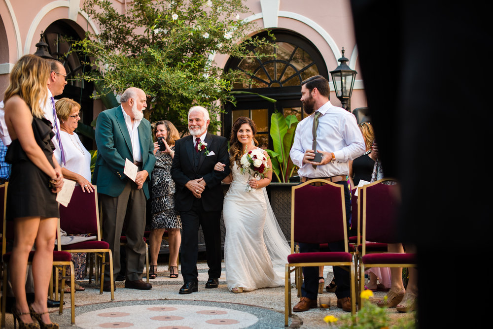 Historic_October_Charleston_Destination_Wedding_The_Mills_House_Father-walking-Bride-down-aisle_