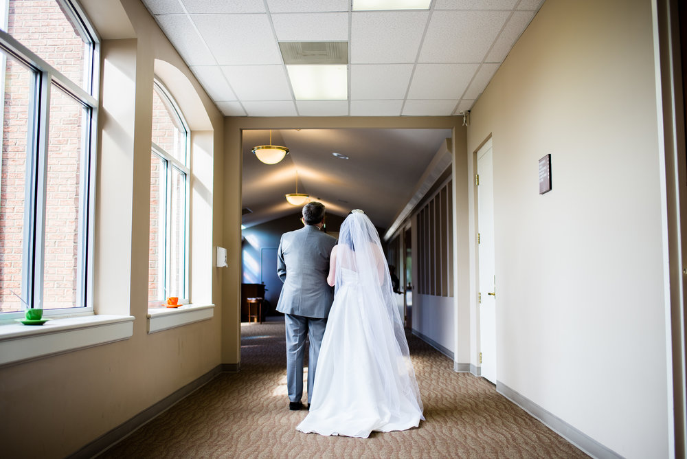 Before the Ceremony - Charlotte Traditional Wedding - Woven Strands Photography