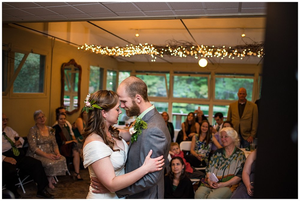 Husband-Wife-First-Dance-Bride-Groom-Bull-Creek-Ranch-Asheville-North-Carolina