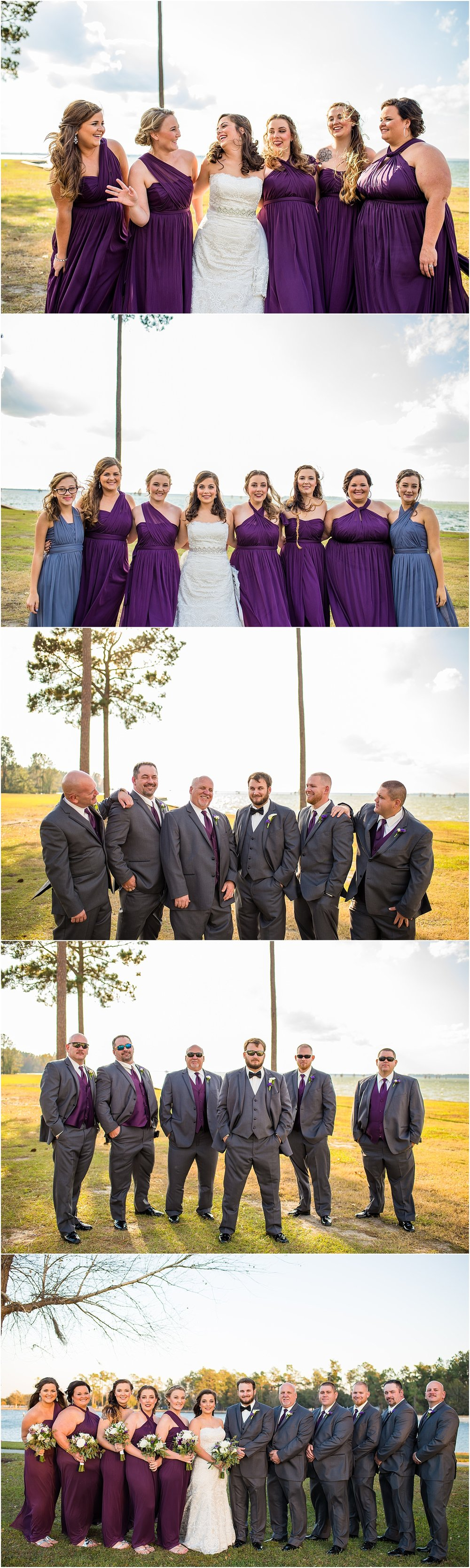 Purple_Silver_Wedding_Party_Winter_Wedding_Charleston_South_Carolina