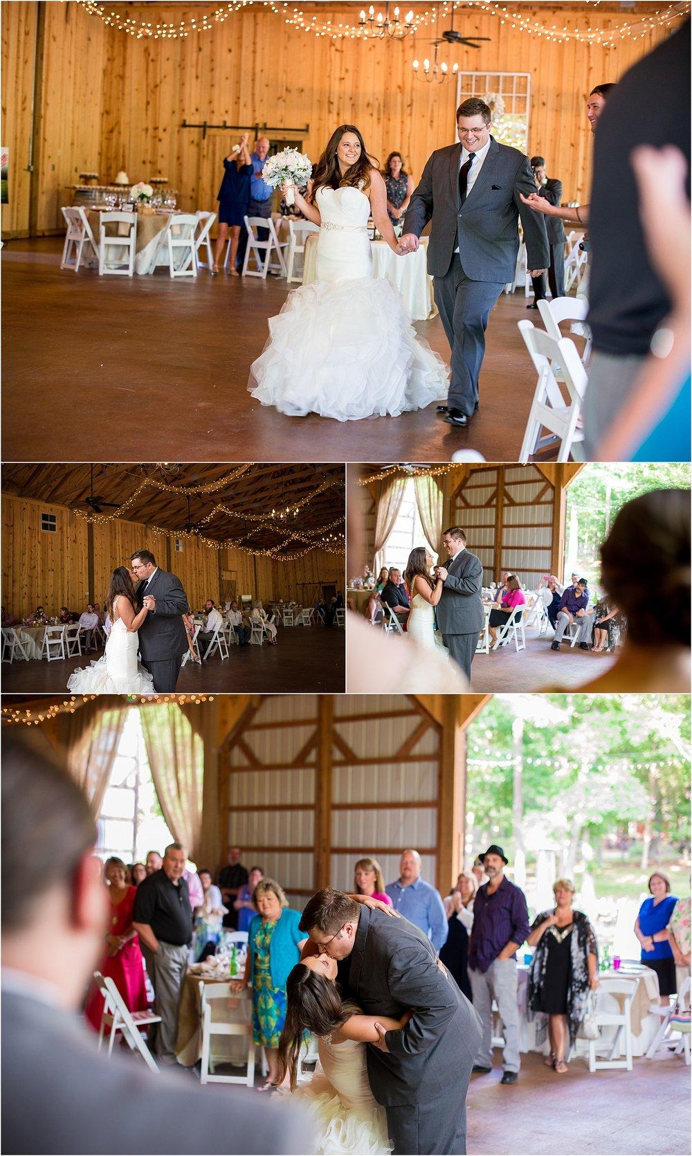 First-Dance-Husband-Wife-Rustic-Spring-Barn-Wedding