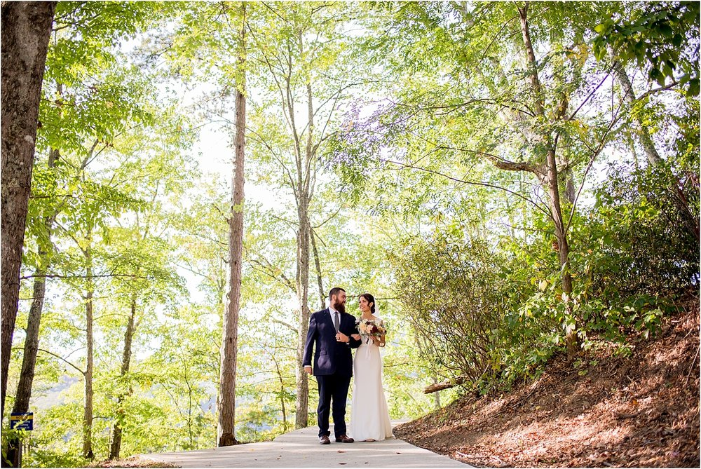 Fontana-Dam-Villiage-Resort-Fall-Wedding