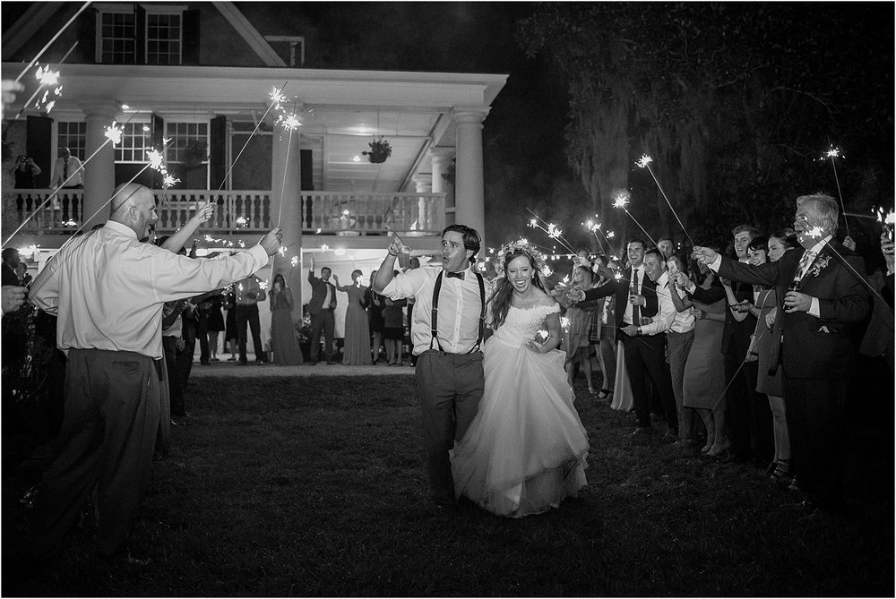Magnolia-Gardens-Fall-Wedding-Sparkler-Exit