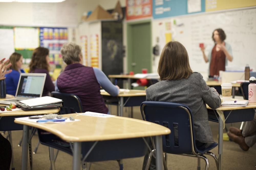 Design-based learning workshop for teachers