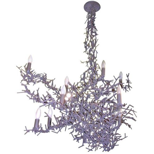 Asymetrical Tangled Branches Chandelier
