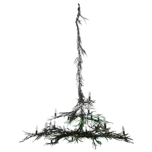 Monumental Twig Chandelier