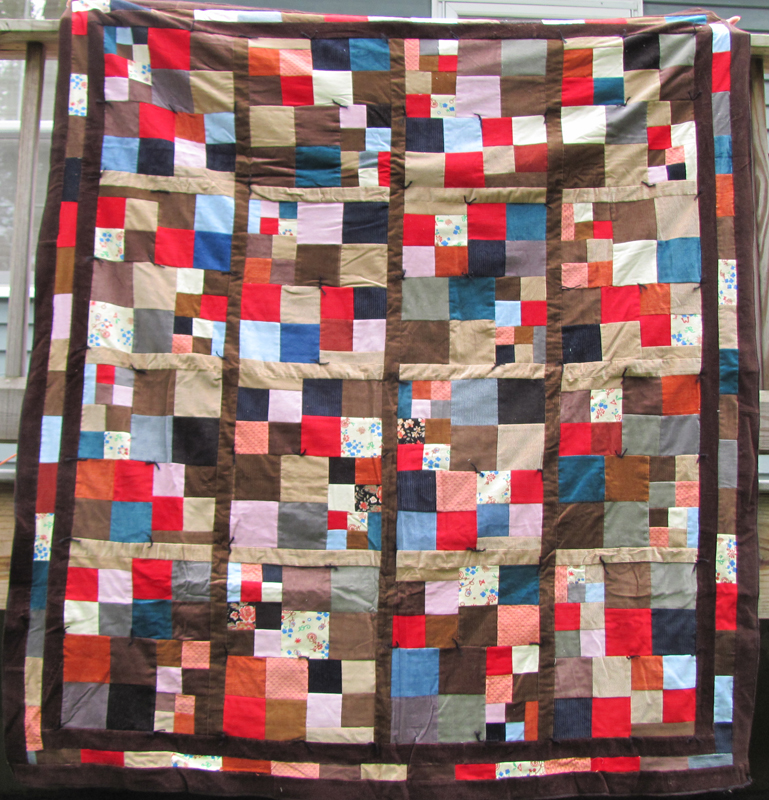 Family Quilts - Day 6 — Timna Tarr : corduroy quilts - Adamdwight.com