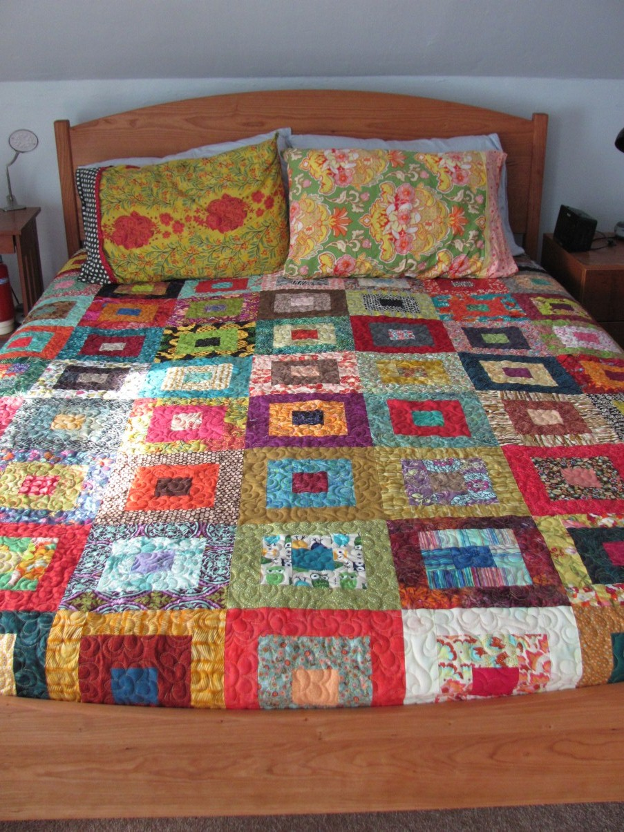Bed quilt