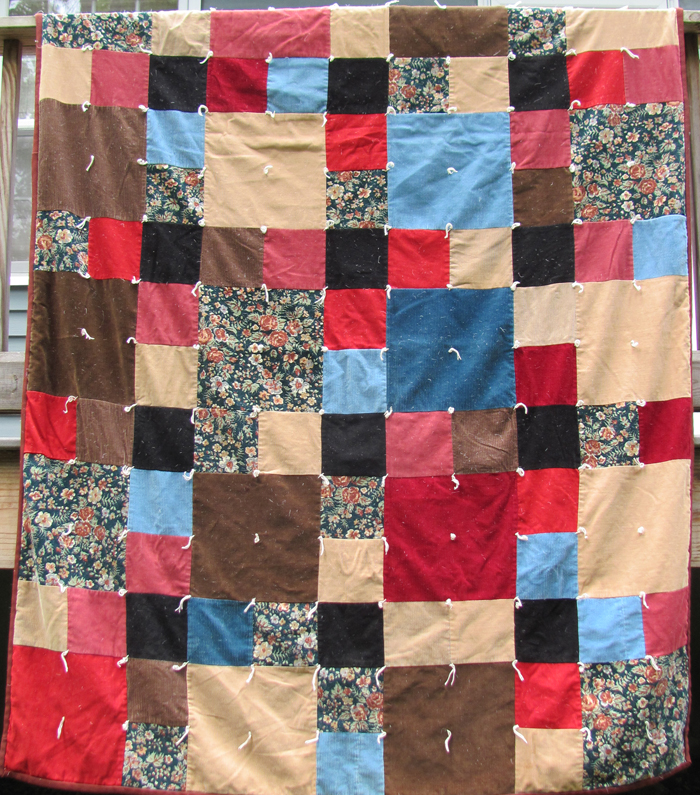 dark brown quilt family quilts day 6 timna tarr