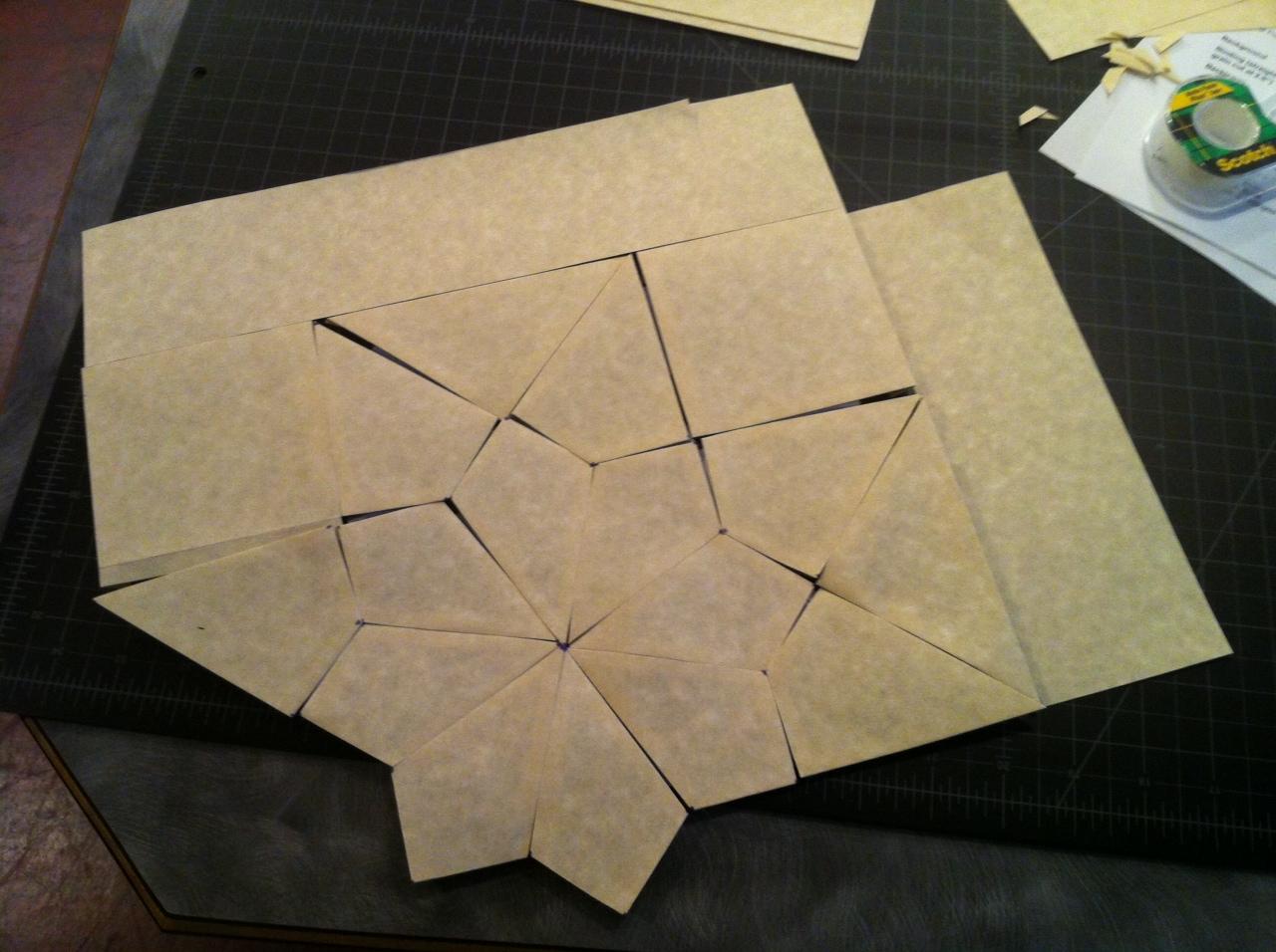 Grandma's Stars _ paper test