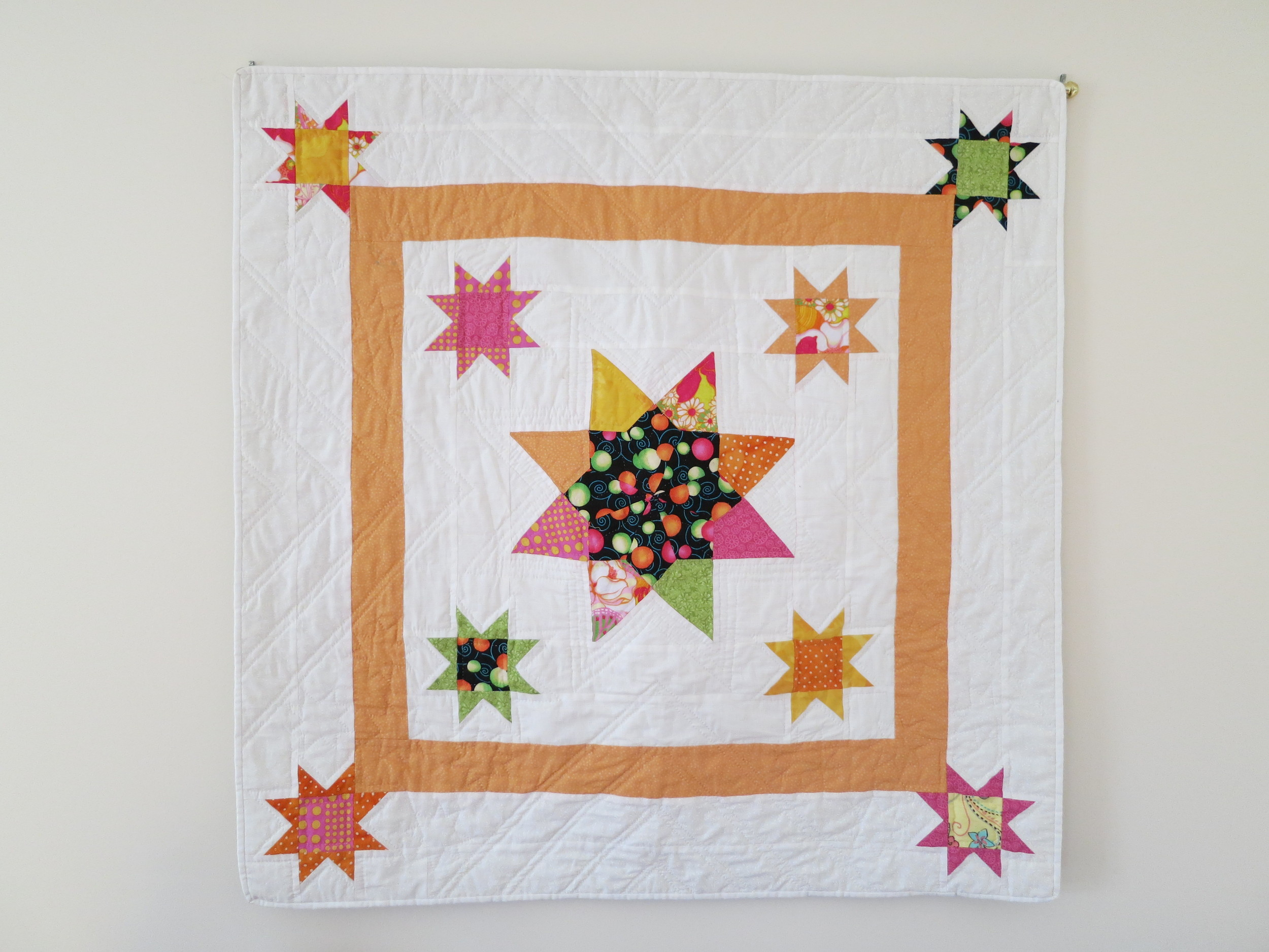 Grandma's Stars, Baby test Dana Tarr 2012