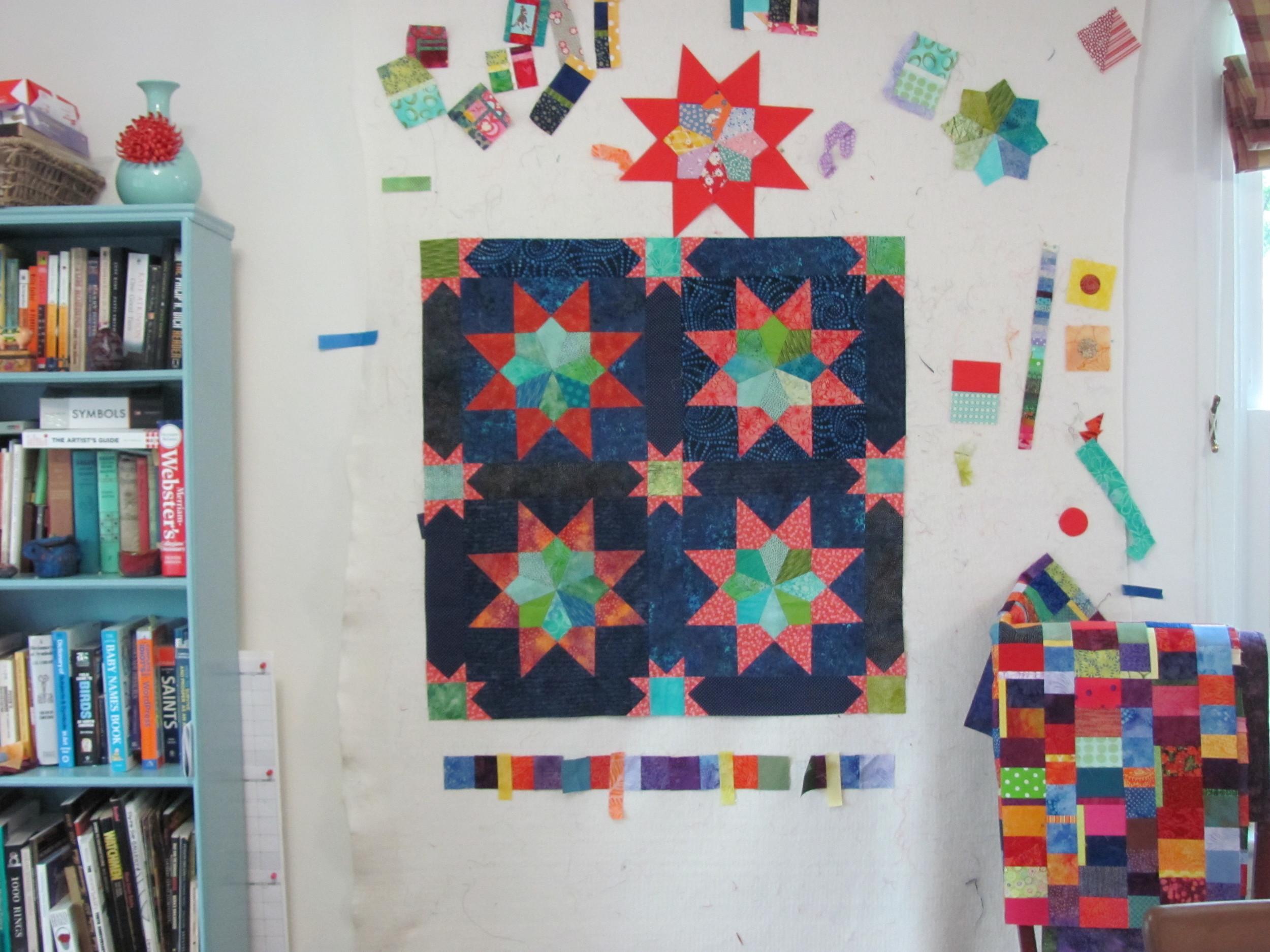 Grandma's Stars, Baby/Wall Timna Tarr 2012