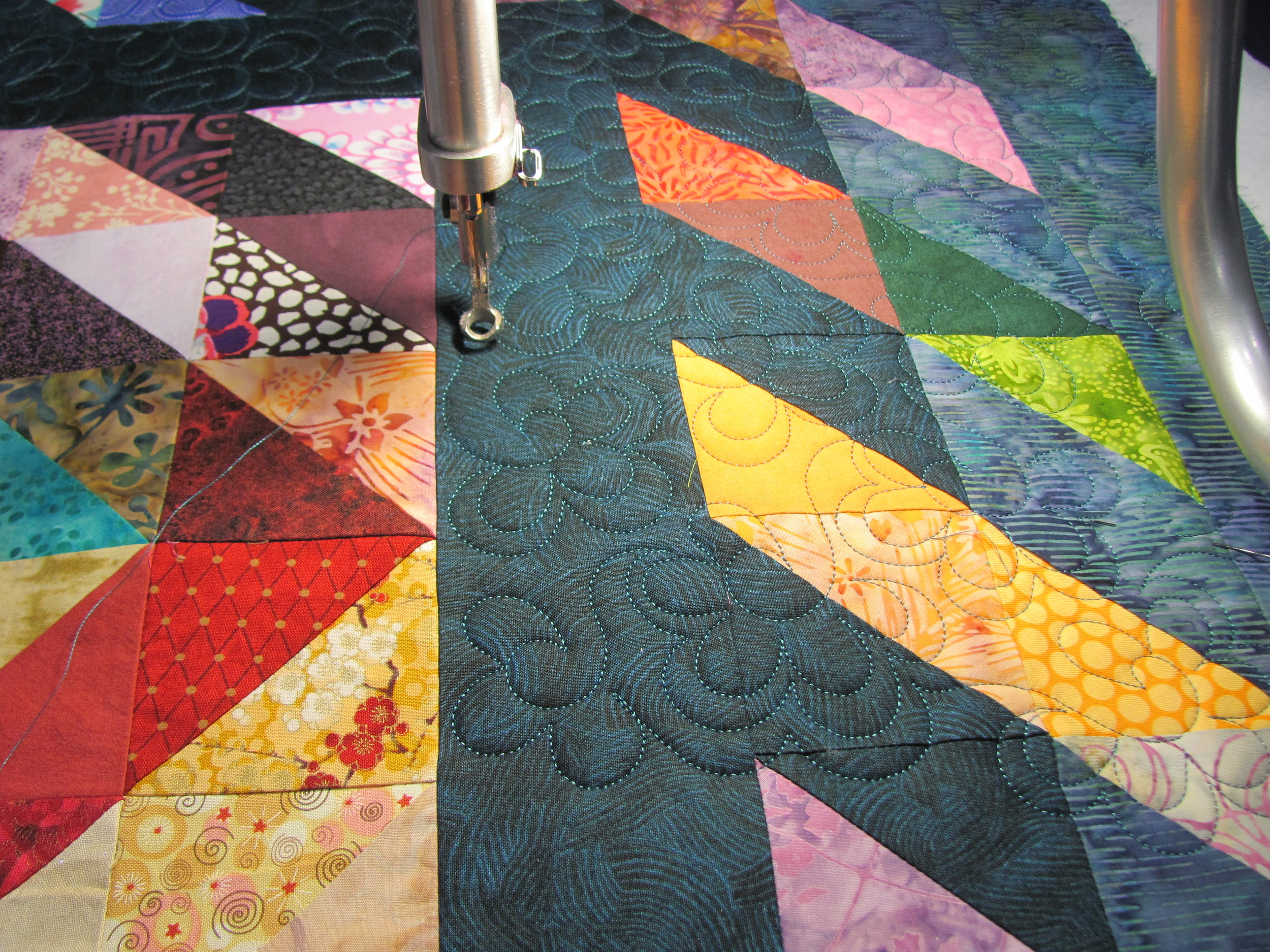 Happy Trails, quilting, Timna Tarr 2013