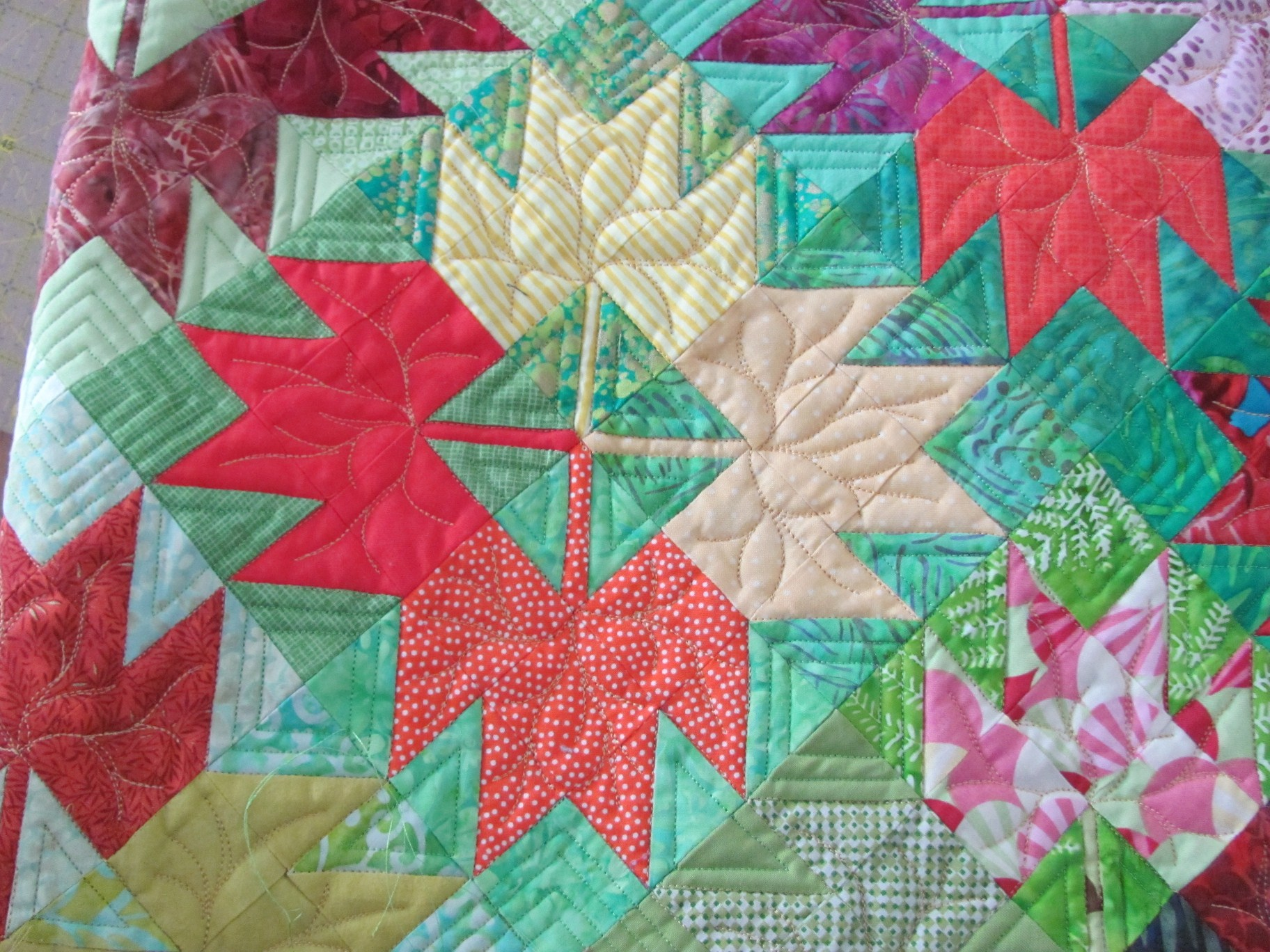Maple Leaf Quilting