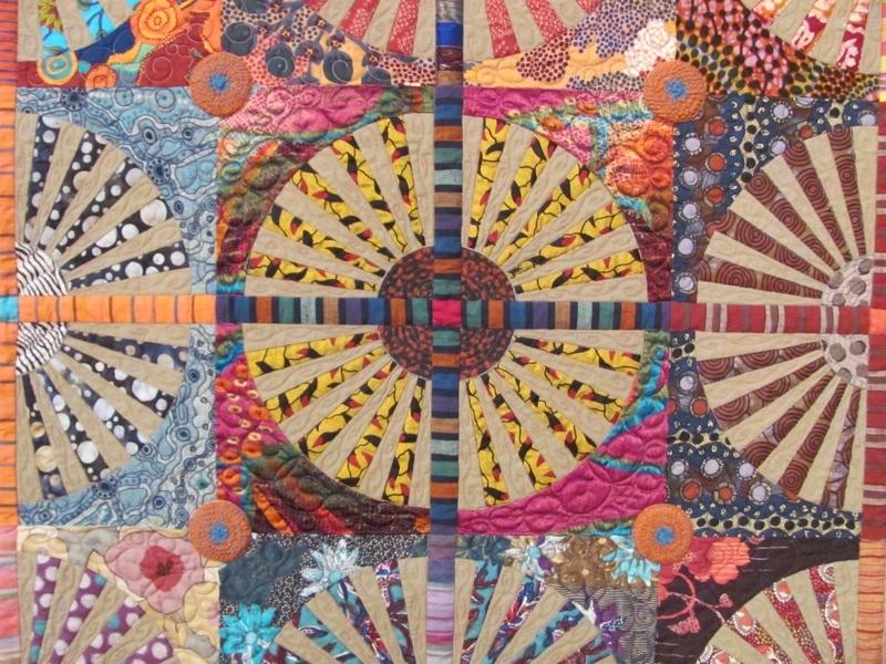 McLaughlin-Loeser Dandelions - detail