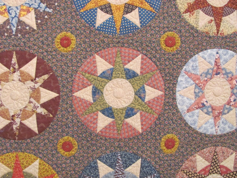 McLaughlin & Loeser - The Compass Quilt - detail