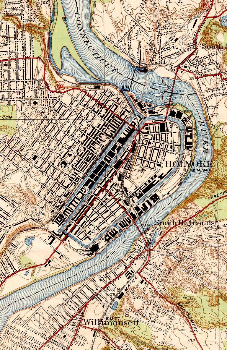 Holyoke1938map