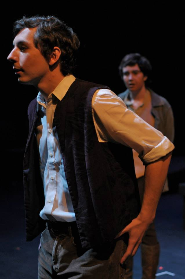 Eric Schlein (Andres) and Maggie Marie Rodgers (Woyzeck)