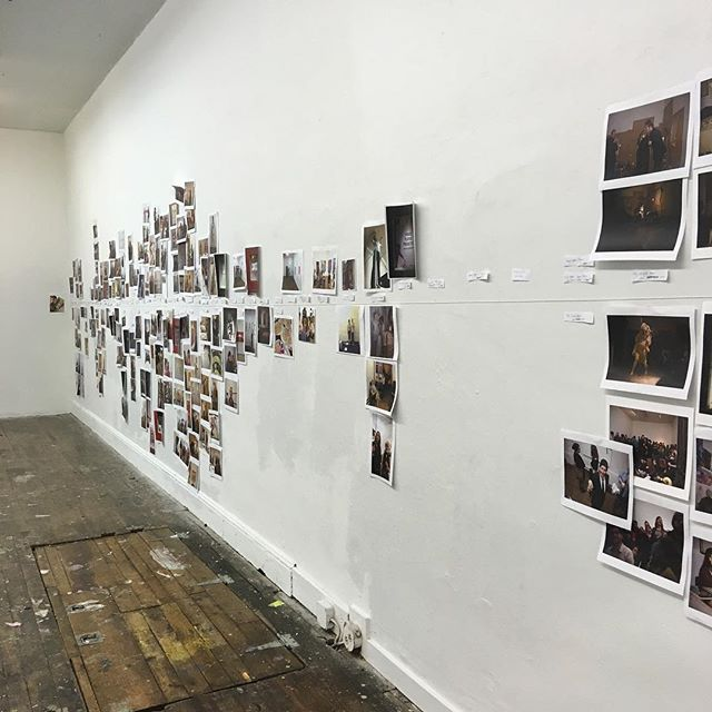 Laughing and Crying at our farewell party! Come check out our timeline and hang! 7-10! Performance by @francesdoefeen at 9!! #phillyart #phillyartists #goodbyeparty #performanceart #oldcityphilly #itsafuneral