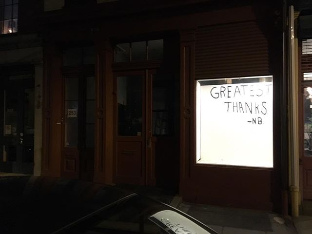 Greatest thanks -NB