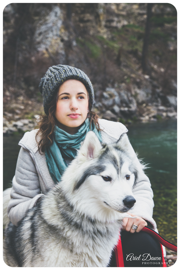 Hiking Beautiful Montana with Husky