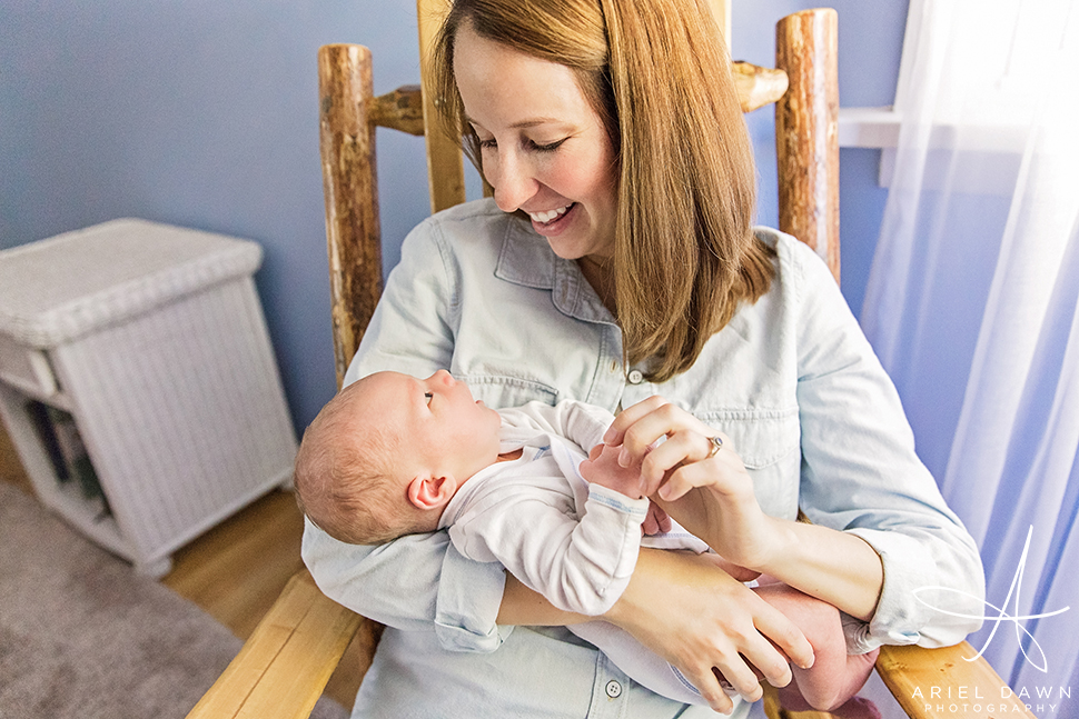 newborn photographer great falls montana | Ariel Dawn Photography
