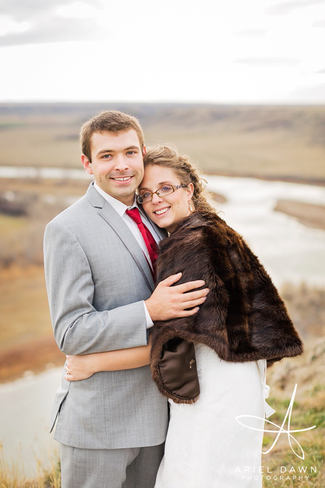 I was in love with the fur coat Carolyn wore to compliment her wedding dress.