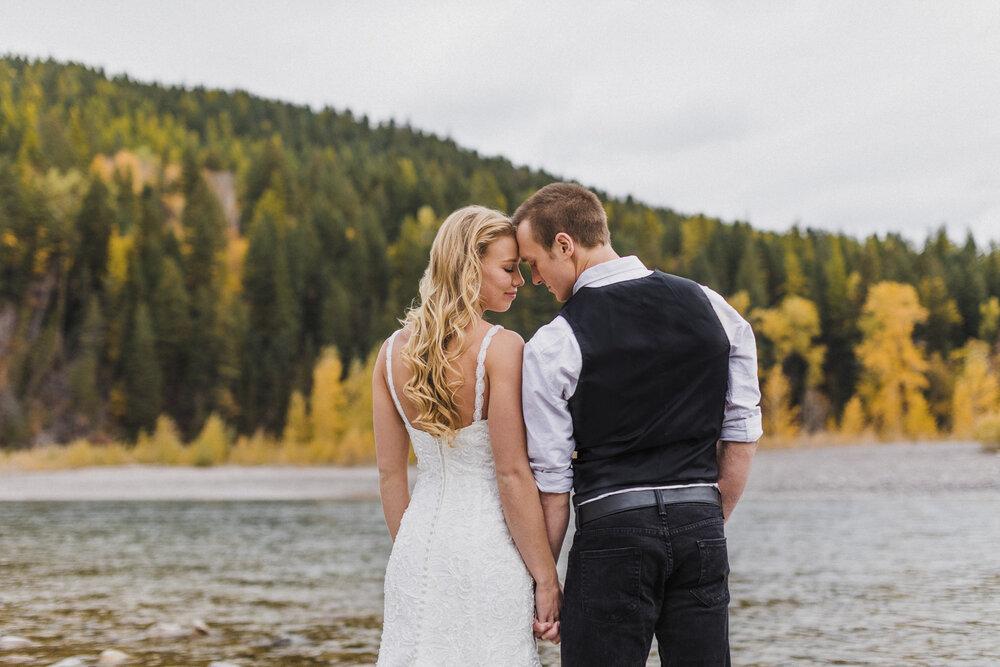 Lewistown, Montana Wedding Photos