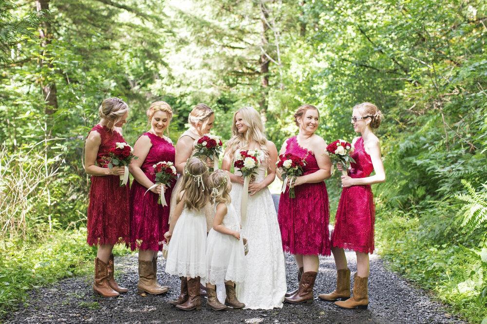 Oregon Wedding Photos