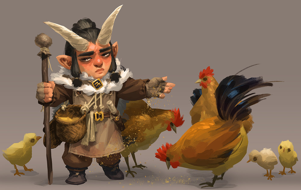 The chicken farmer
