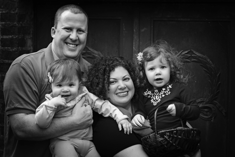 Black and White Family Photography Kate Montaner