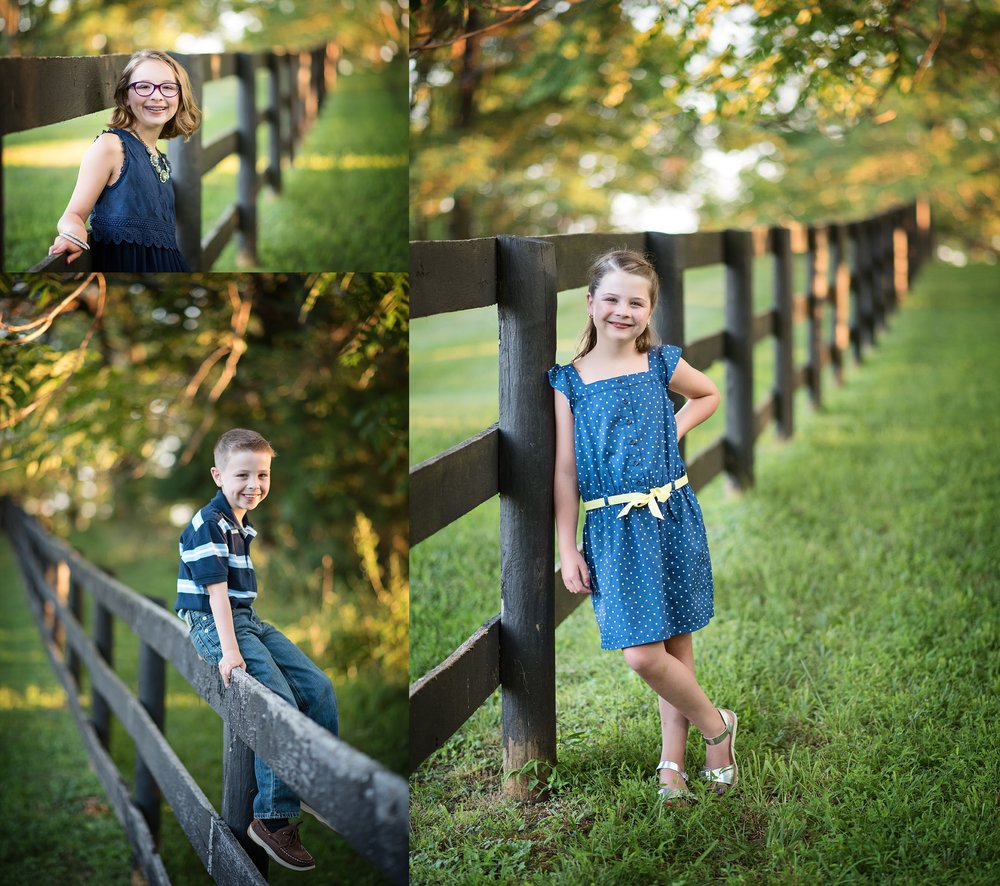 childrens-portraiture-country-wooded-gate-navy-and-yellow-childrens-portrait-photographer-kate-montaner-photography
