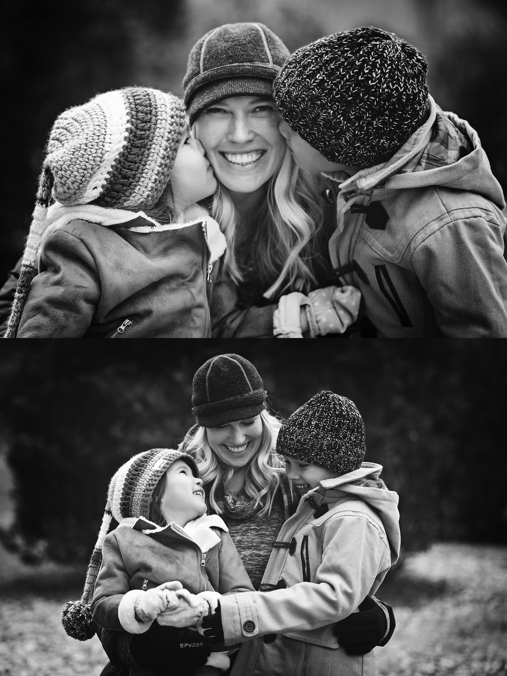 black-and-white-photography-mom-and-children-family-photographer-kate-montaner