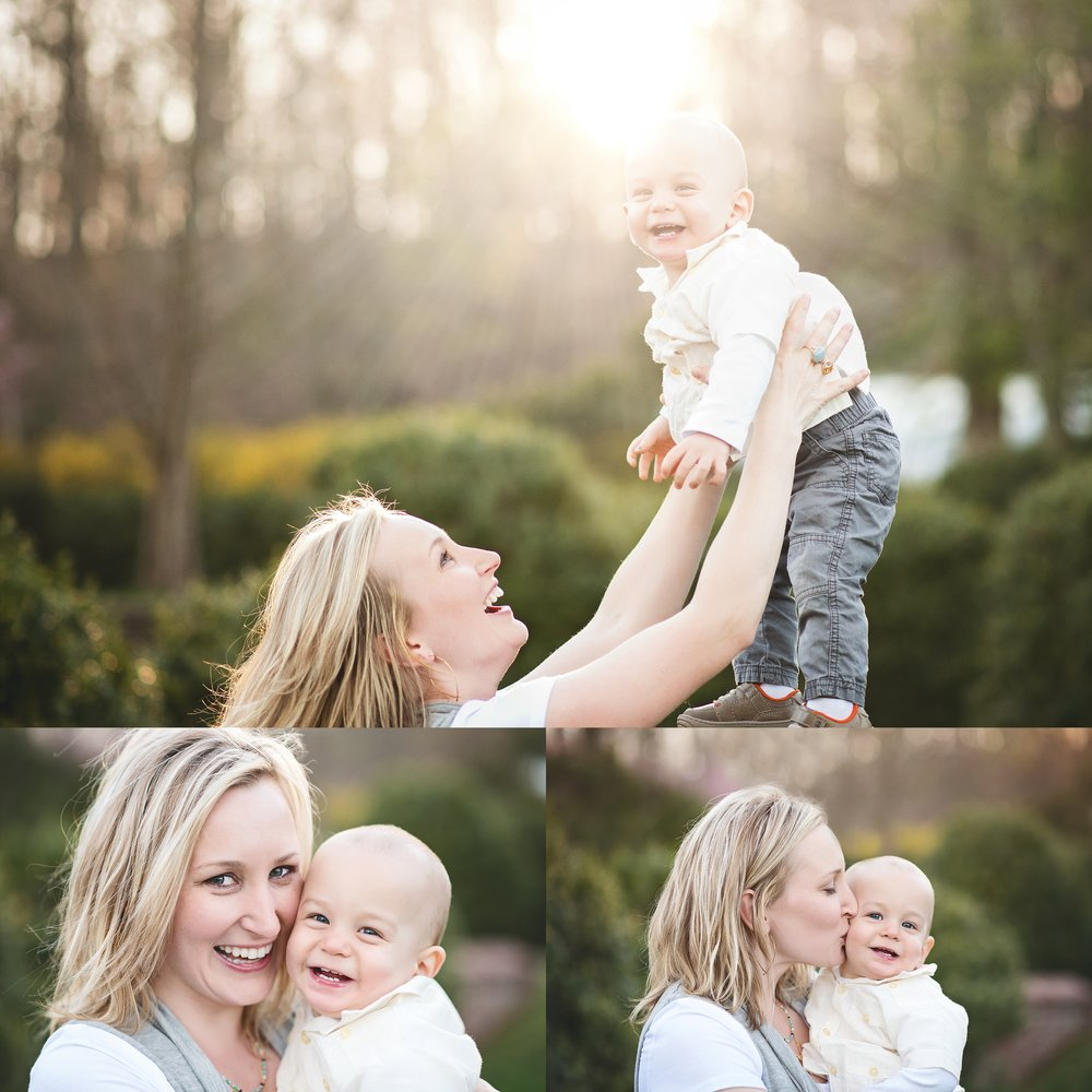 spring-family-photos-mom-and-baby-sunset-sunburst-magic-hour-loudoun-and-arlington-family-photographer-kate-montaner-phtoography