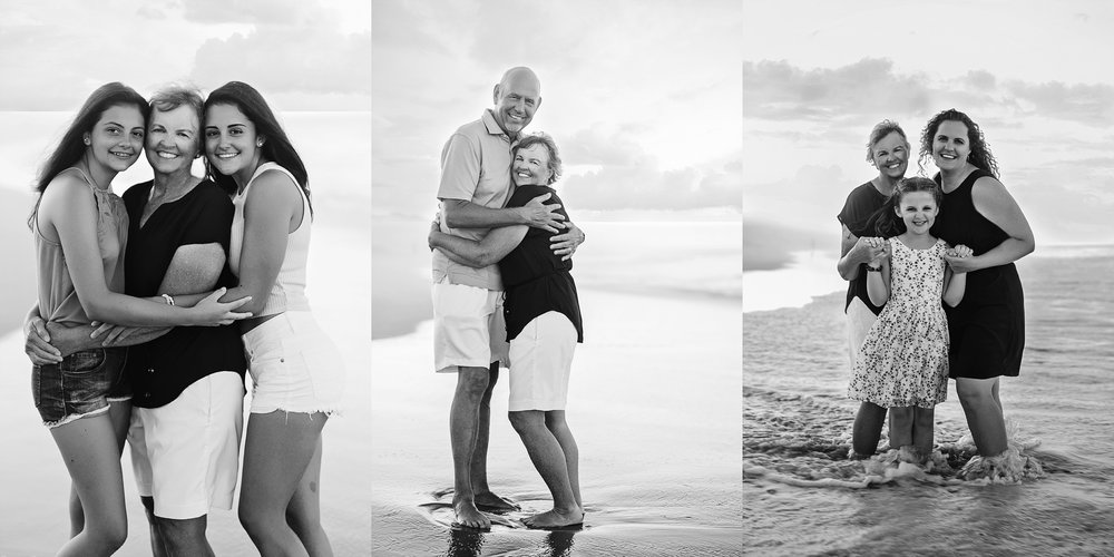 beach-family-photography-grandparents-grandkids-couples-black-and-white-outerbanks-kate-montaner-photography-loudoun-family-and-childrens-photographer
