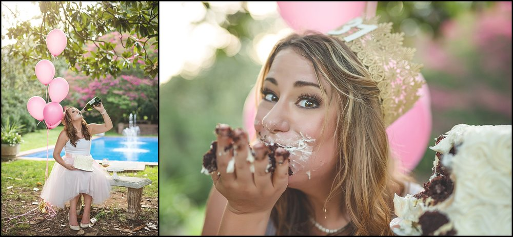 Birthday Cake Smash Adult Blush Champagne Kate Montaner Photography (7).jpg