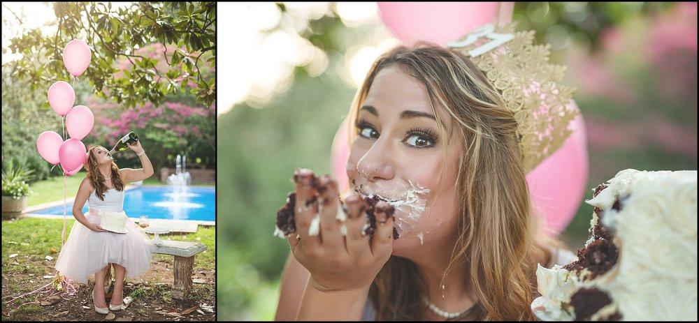 Birthday Cake Smash Adult Blush Champagne Kate Montaner Photography (7).jpg