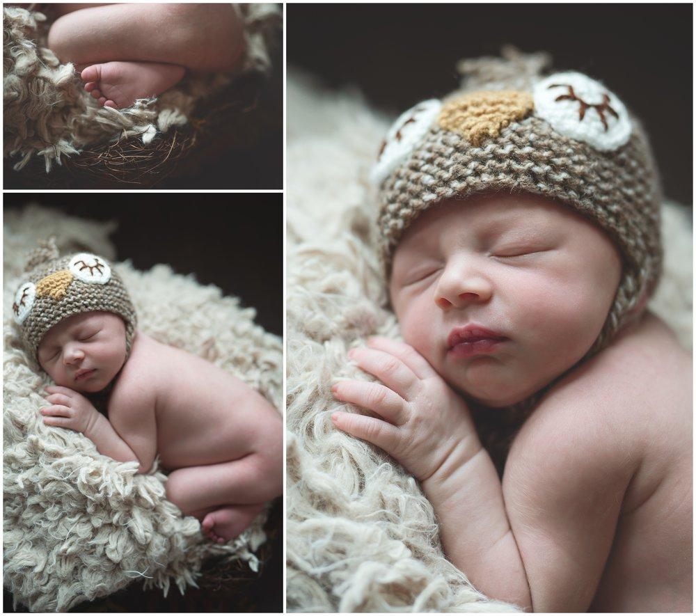 Baby Bird bonnet and nest Newborn Photography Kate Montaner Photograhy Ashburn Virginia (5).jpg