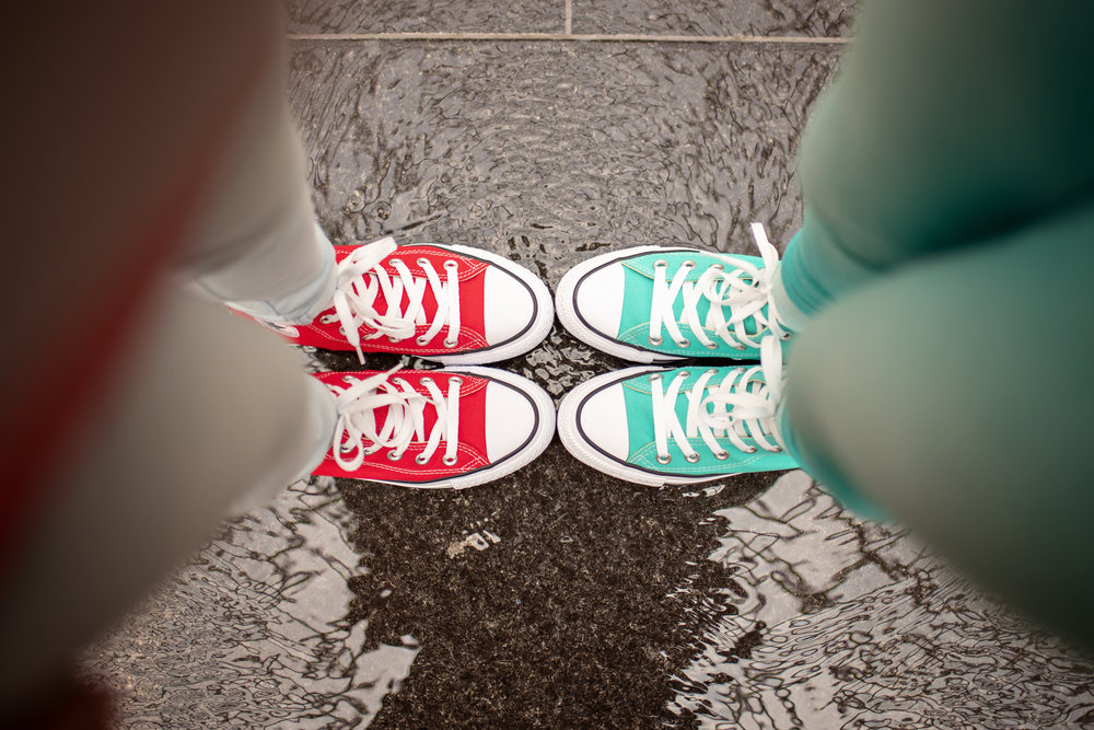 All Star High top Chucks for the Win!