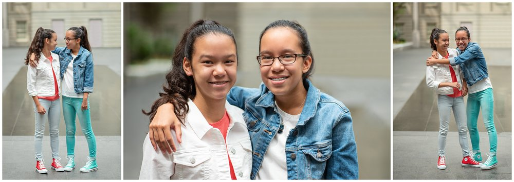 Twin Teenager Portraits at the National Portrait Gallery Washington DC Family and Childrens Photographer Kate Montaner Photography (17).jpg
