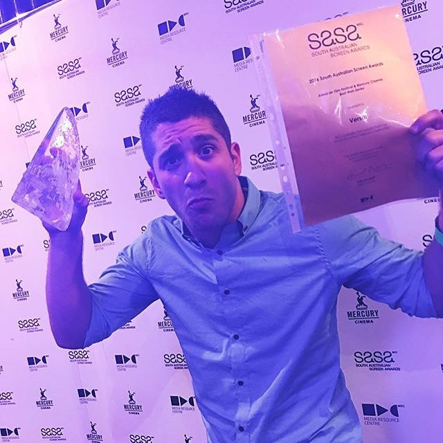Congratulations to @therackaracka for winning Best Webseries at the South Australian Screen Awards 2016! Proud of you boys!