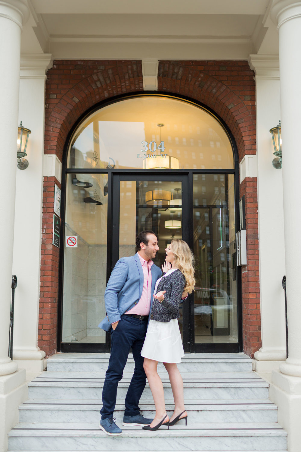 Melissa Kruse Photography - Courtney & JP Gramercy NYC Engagement Photos-103.jpg