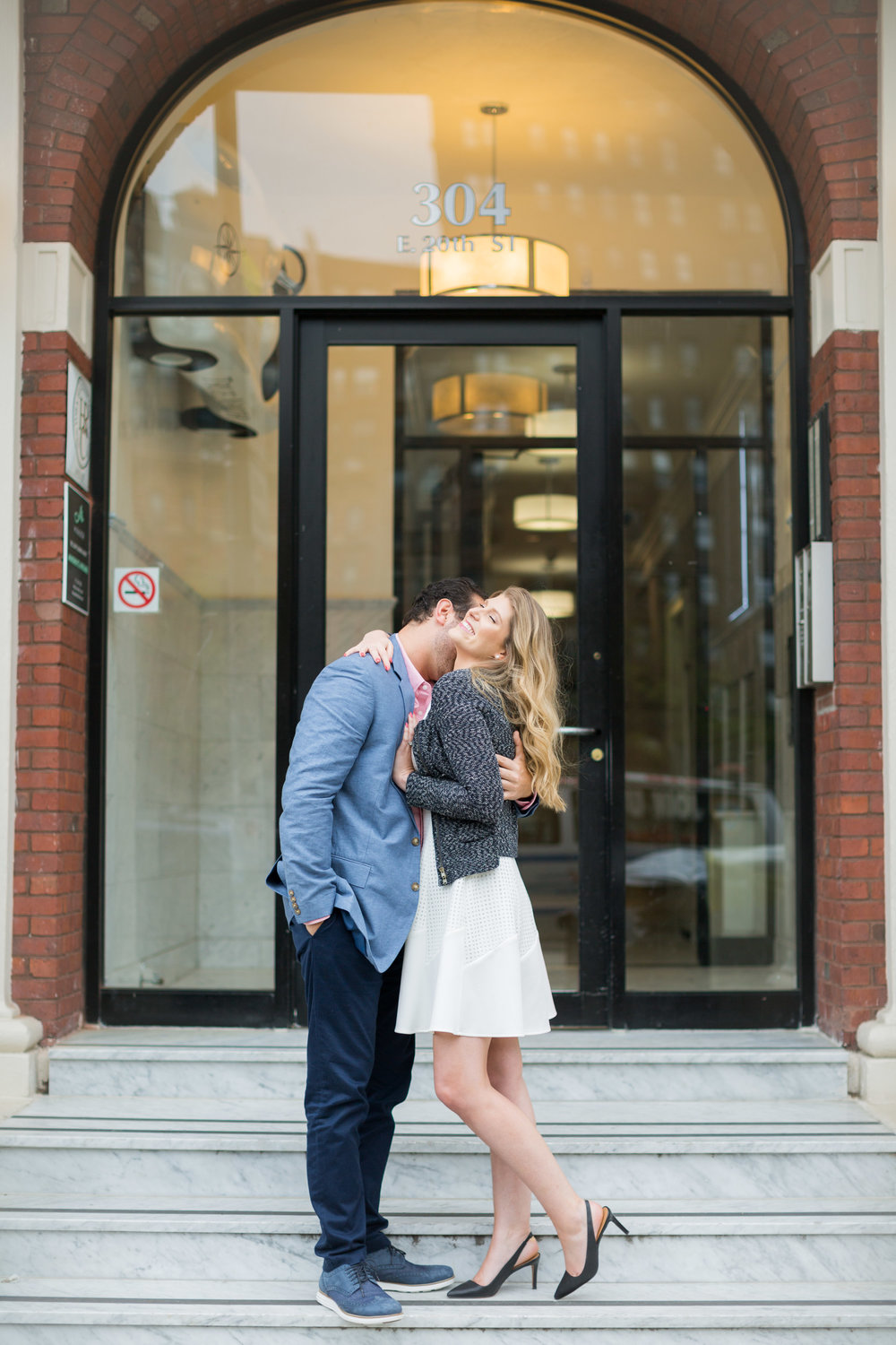 Melissa Kruse Photography - Courtney & JP Gramercy NYC Engagement Photos-106.jpg