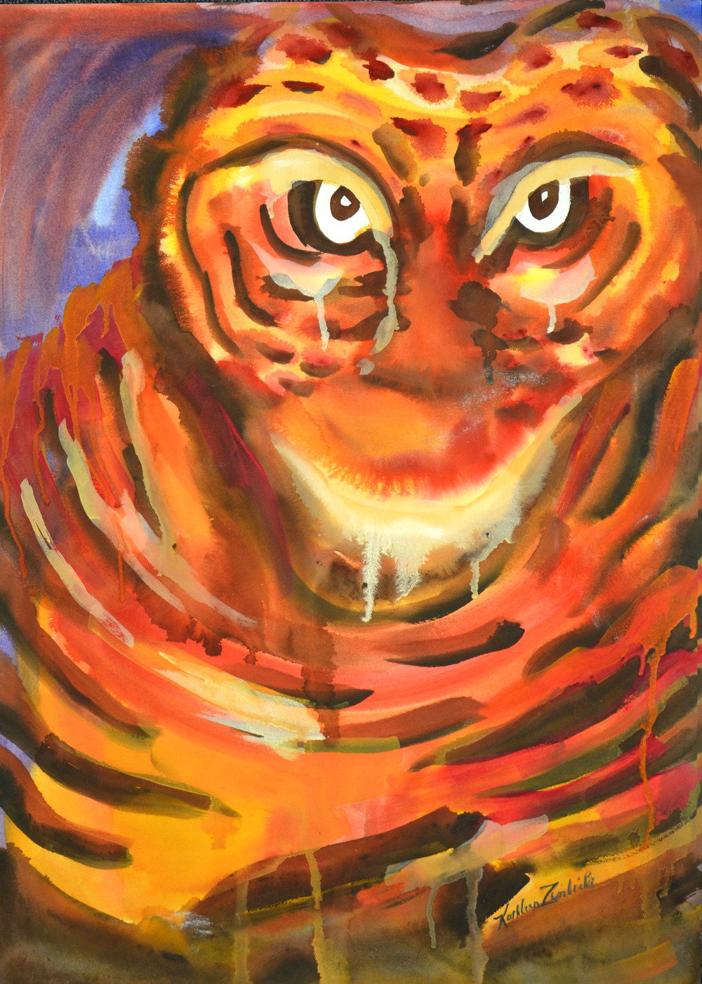 7. Merit Award, Tiger by Kathleen Zimbicki.jpg