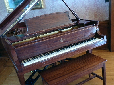 1921 Steinway Baby Grand, donated by Barry McBride