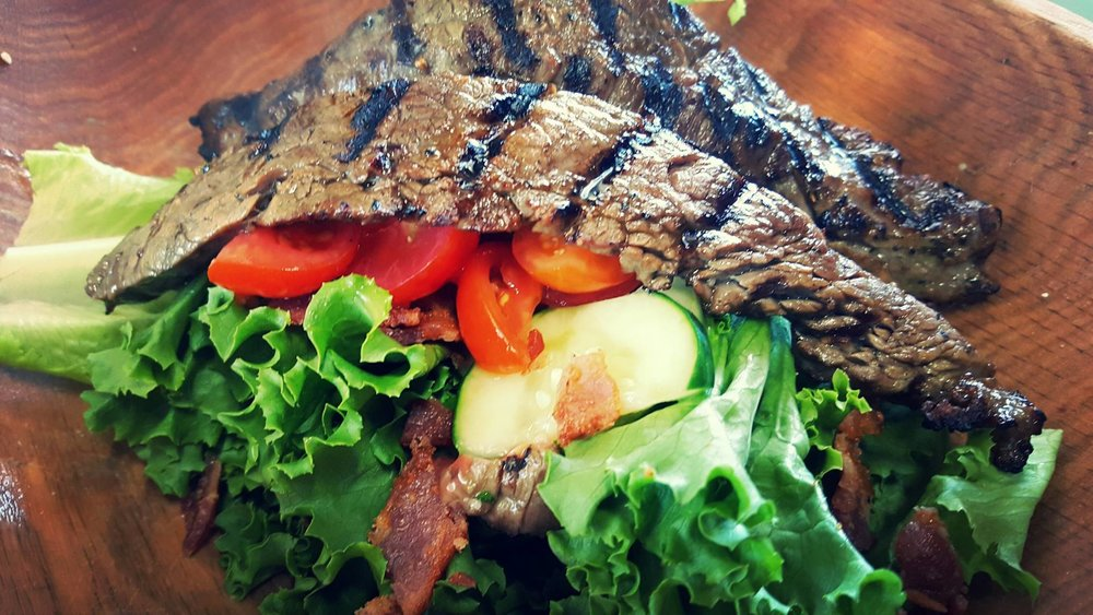 "This ""Glorious Steak"" salad looks pretty glorious to me."