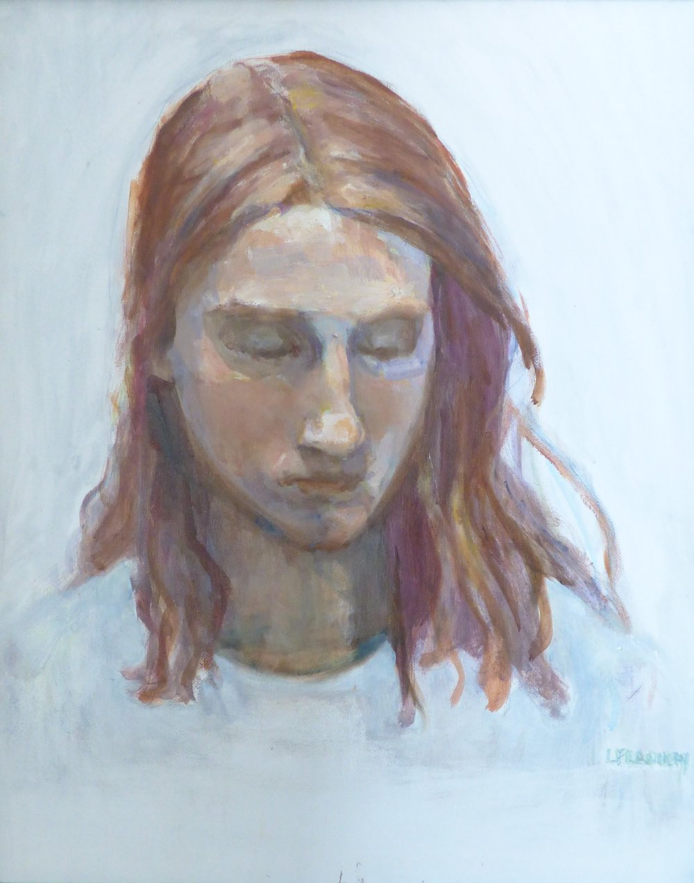 3rd Place, Prayer, oil by Linda Flannery.jpg